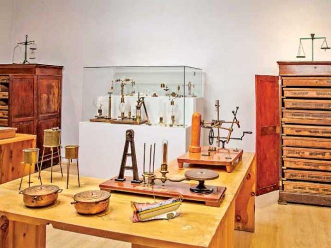 El Colegio de las Vizcaínas abre gaveta de ciencias