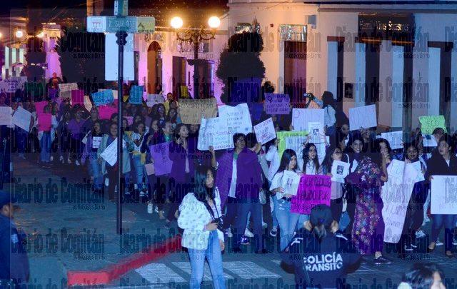 MARCHA FEMINISTA POR EL DÍA INTERNACIONAL DE LA MUJER