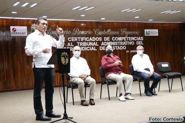 REFUERZAN EL TRABAJO EN EL COMBATE A LA CORRUPCIÓN E IMPUNIDAD